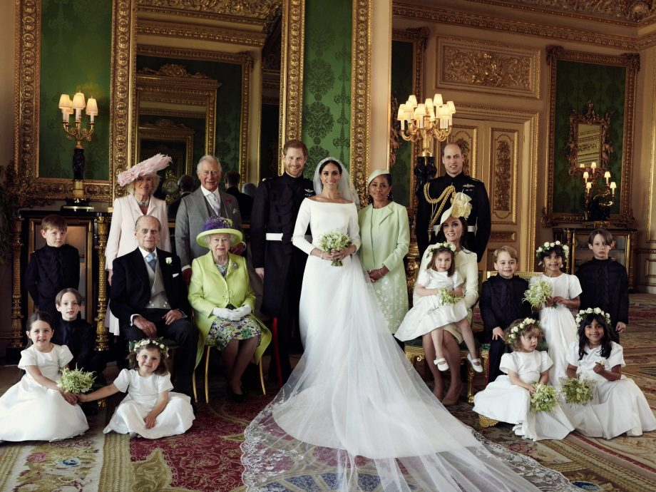 official pictures from Prince Harry and Meghan Markle's wedding