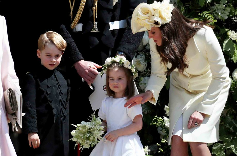 When Is Prince Harry S Wedding.Why Princess Charlotte And Prince George Disappeared During Prince