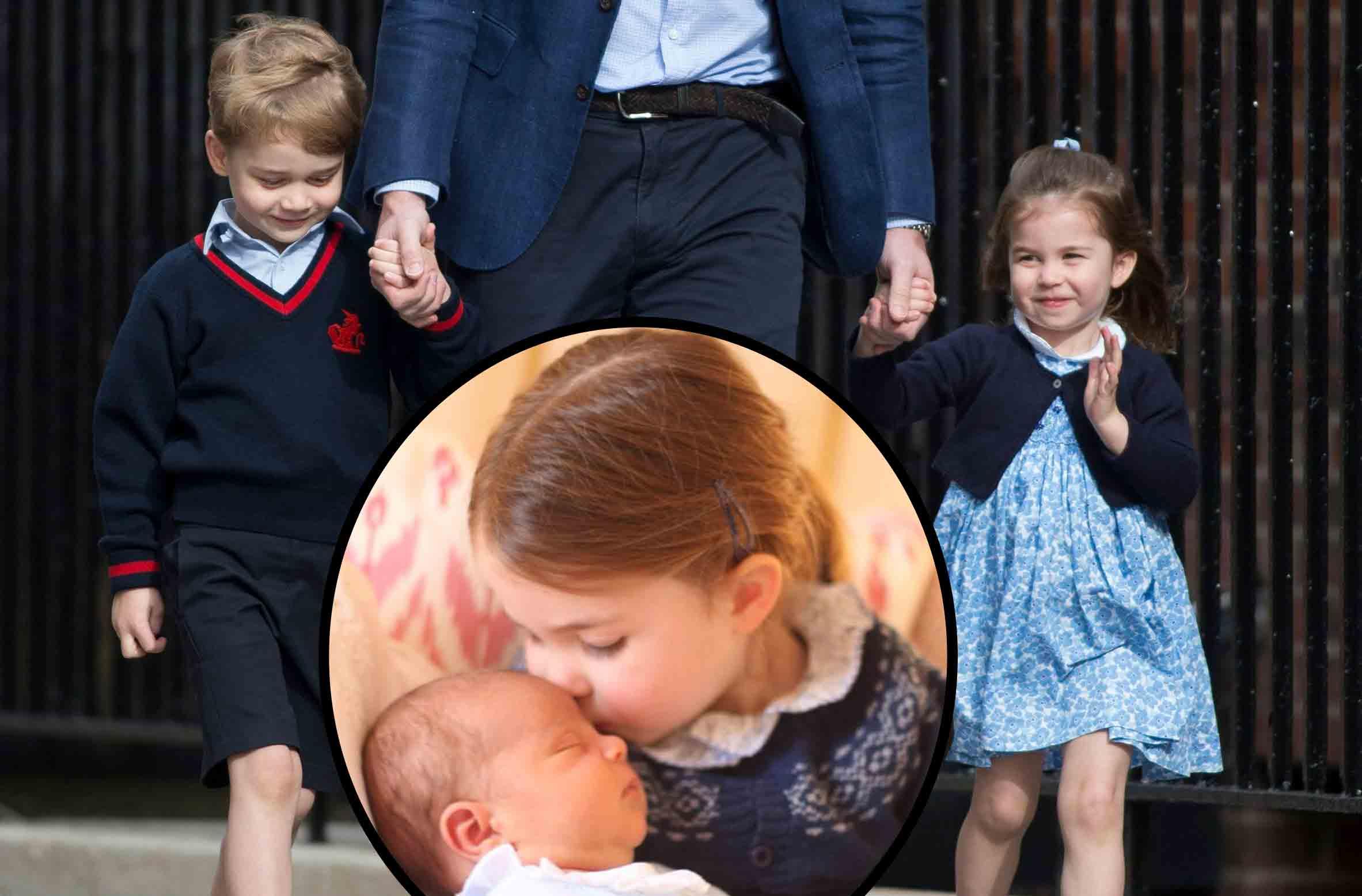 prince louis princess charlotte prince george