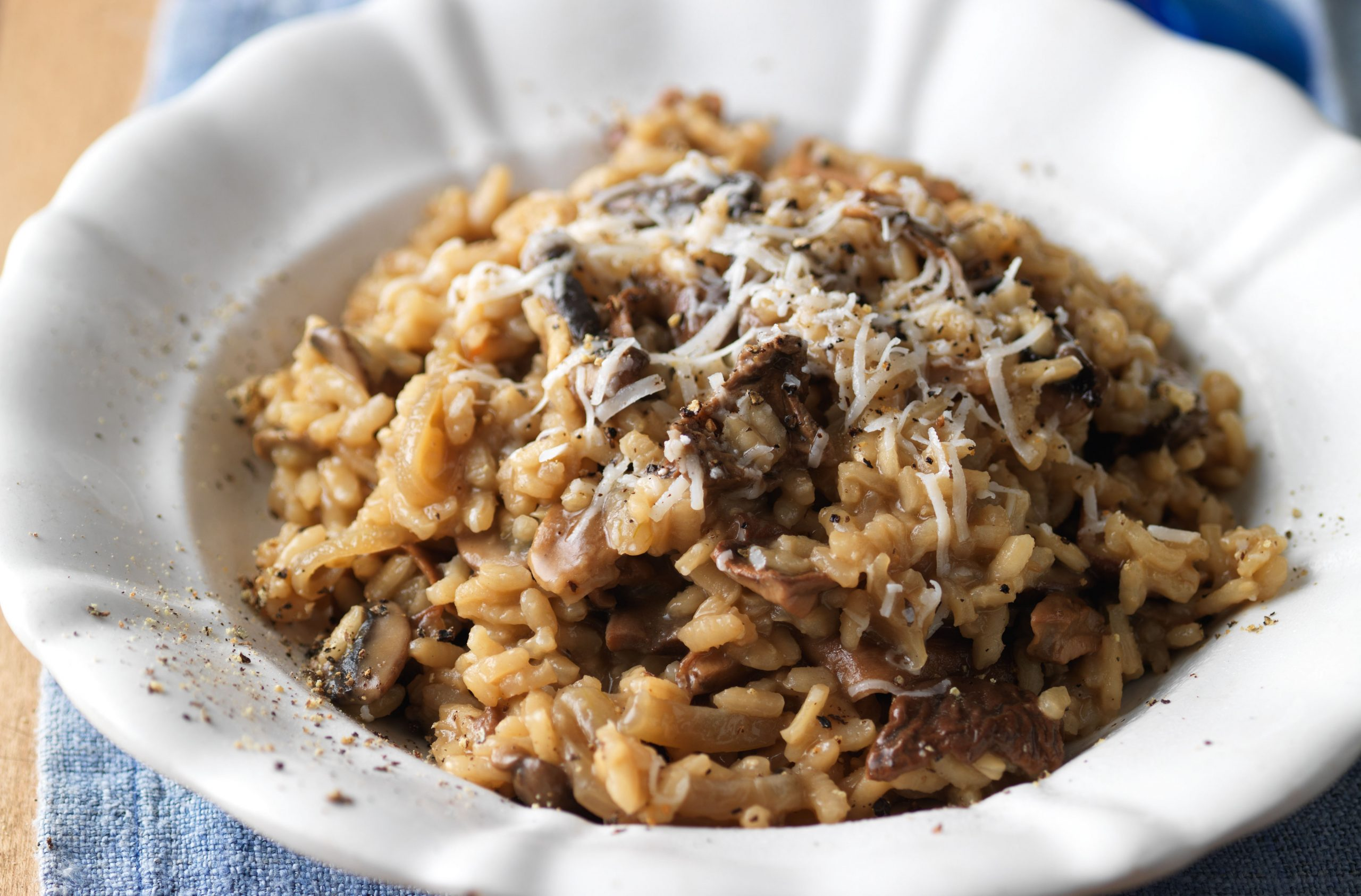 Easy Mushroom Risotto Spanish Recipes Goodtoknow
