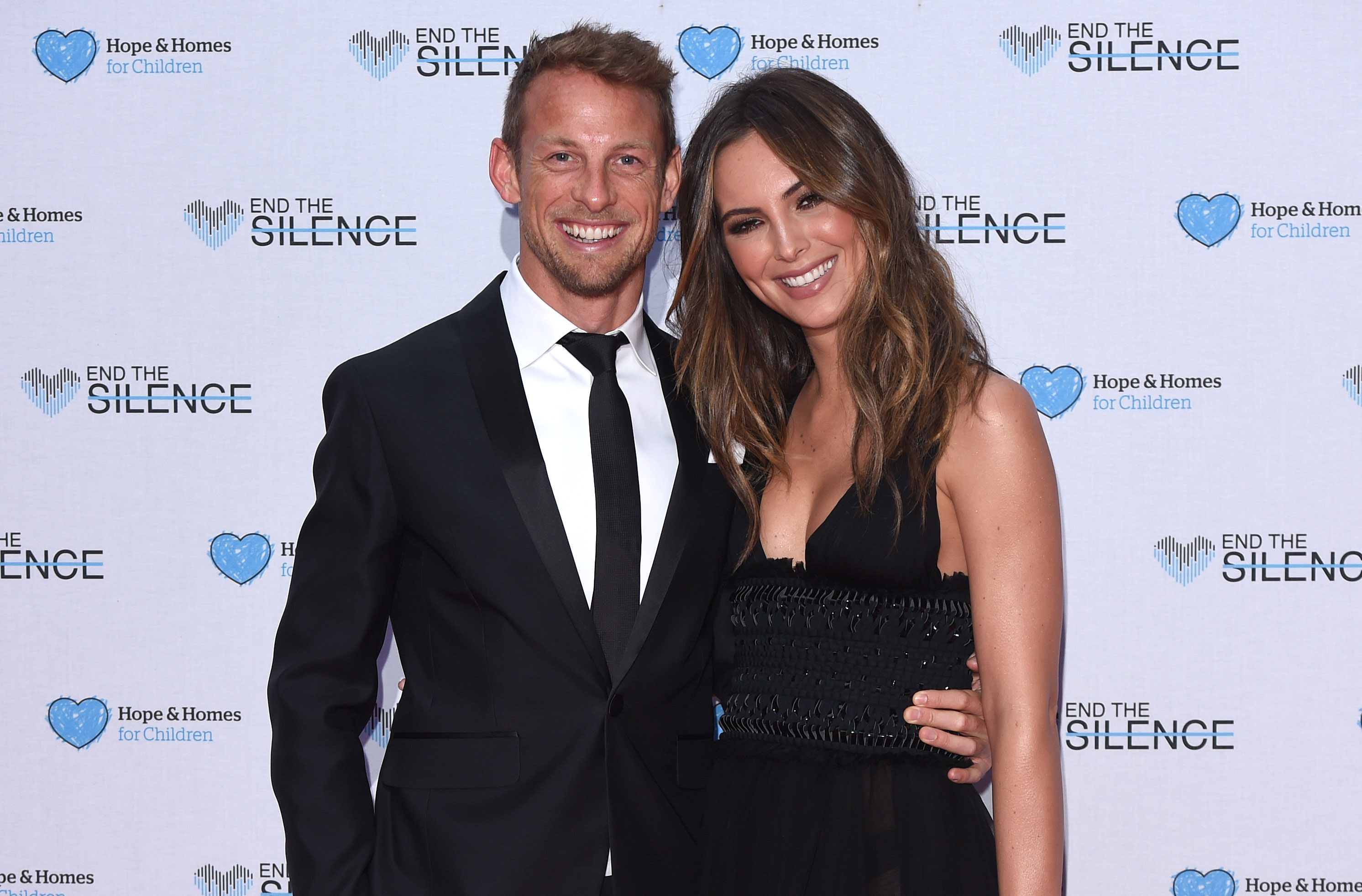 Jenson Button Announces Engagement To Girlfriend Brittny