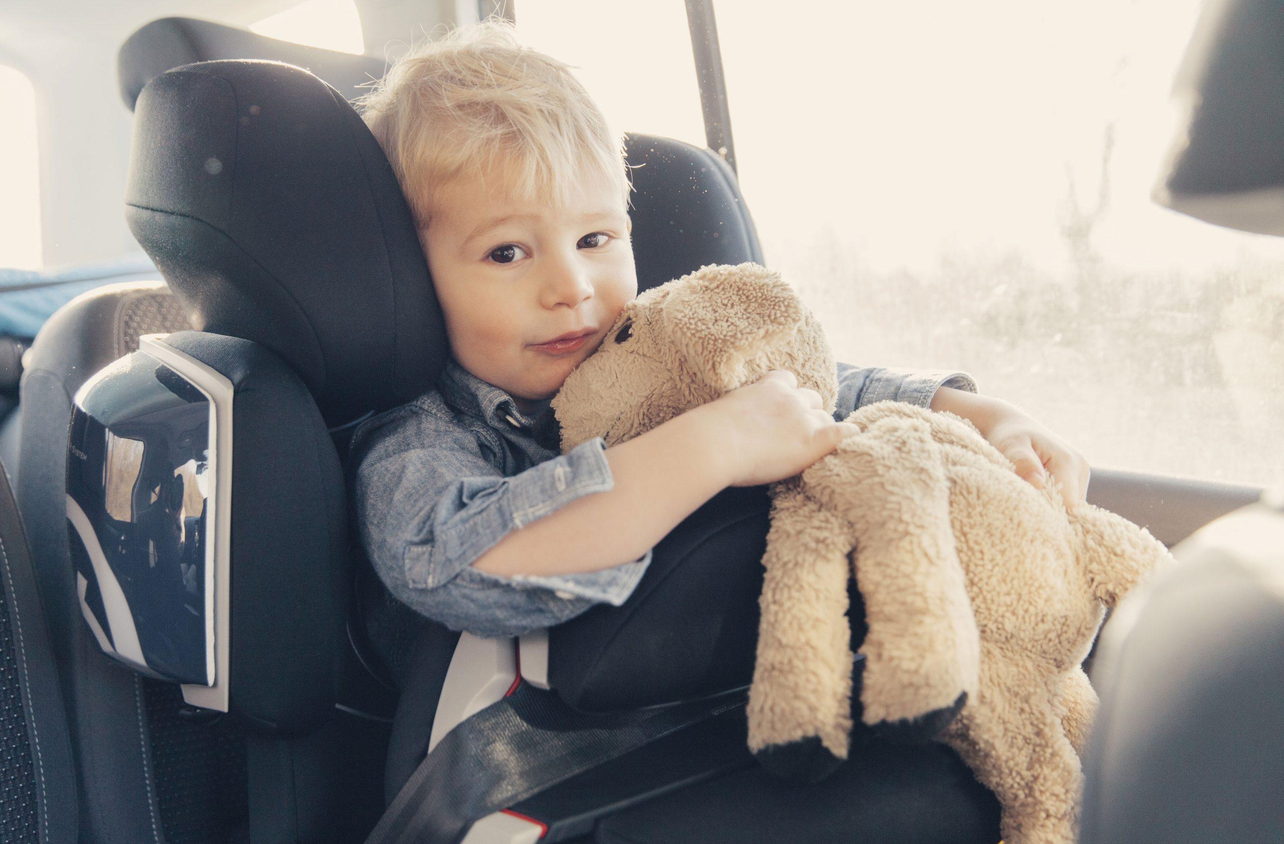 little boy car seat