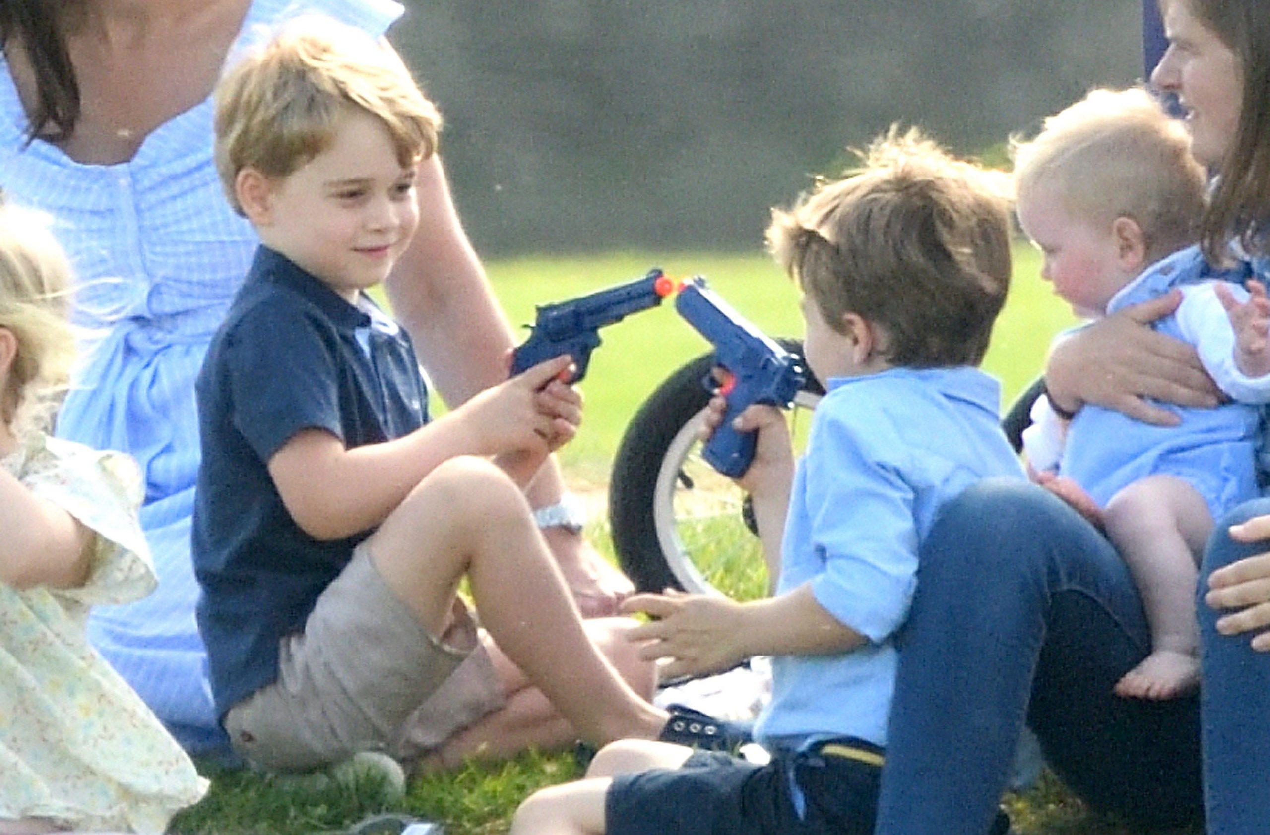 prince george toy gun