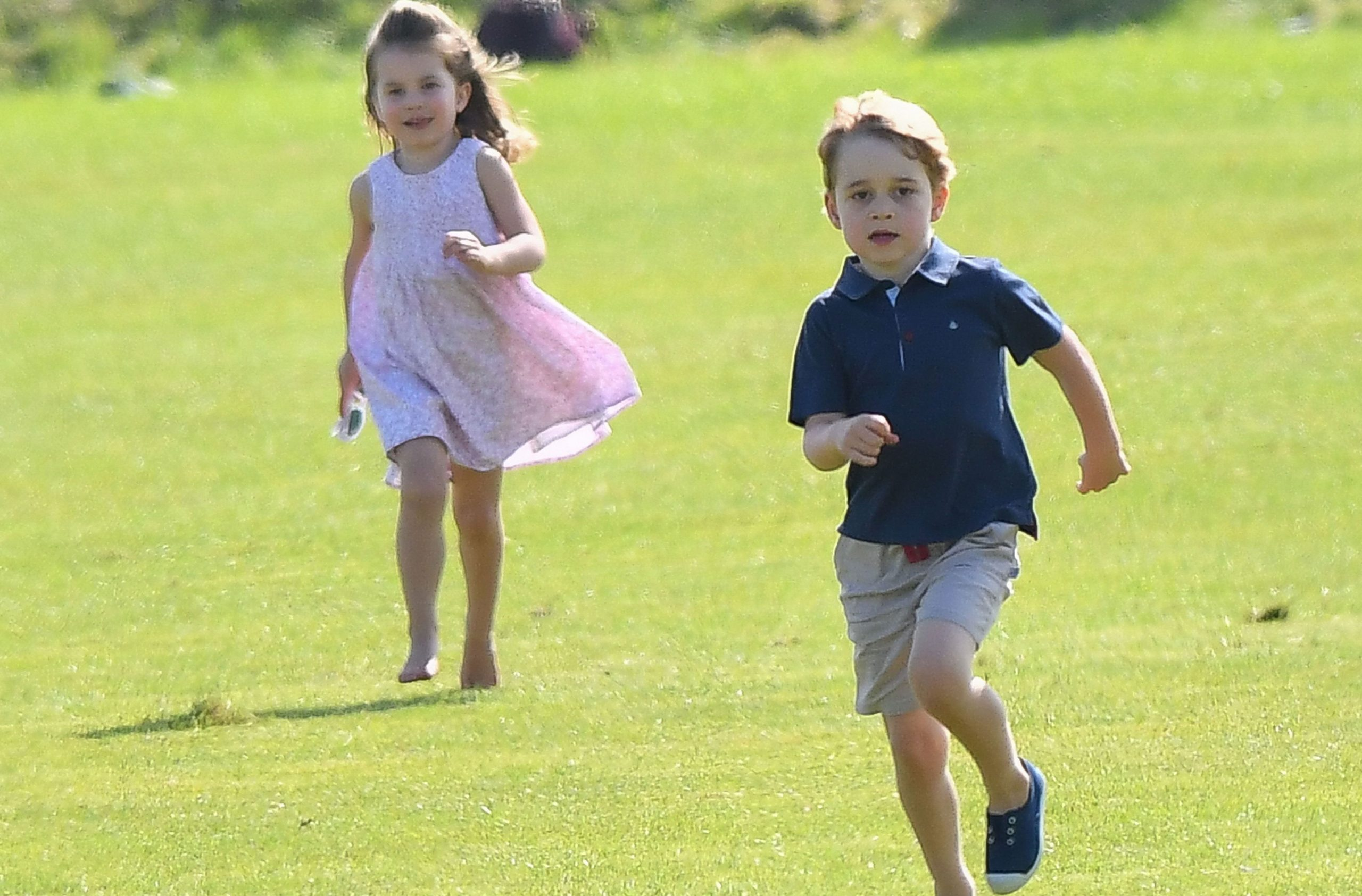 prince george princess charlotte polo