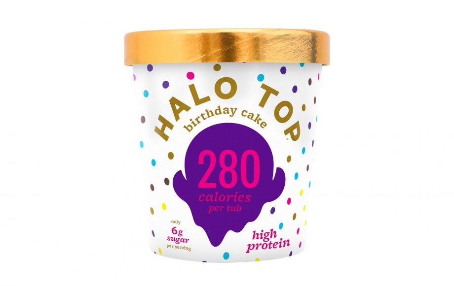 You Can Now Get Your Hands On Birthday Cake Ice Cream And Its Low Cal