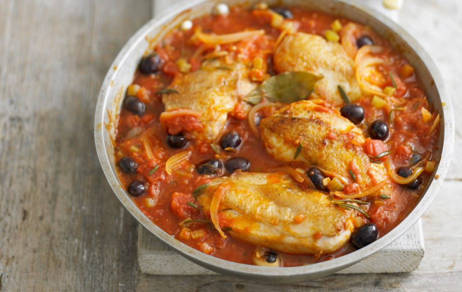 f60a0495f6 Italian-style Chicken With Olives