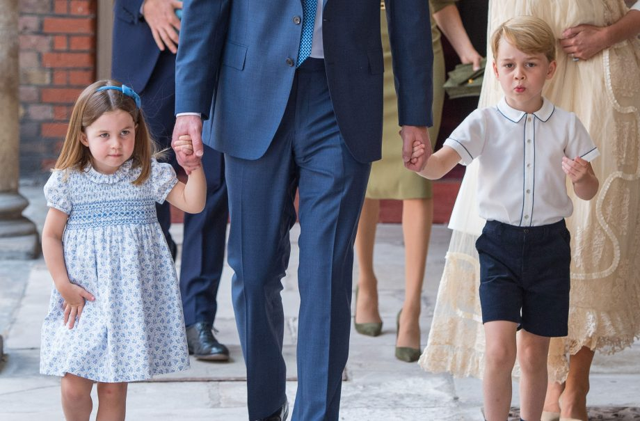 Sister makes you a better person - Prince George Princess Charlotte