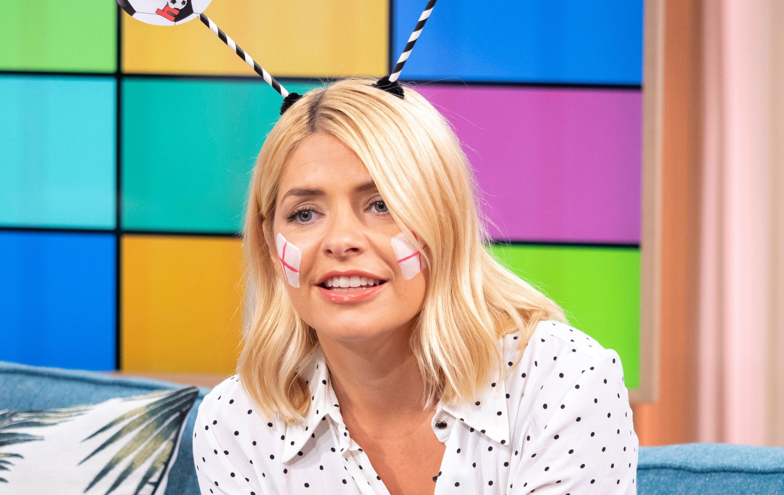 holly willoughby world cup fever