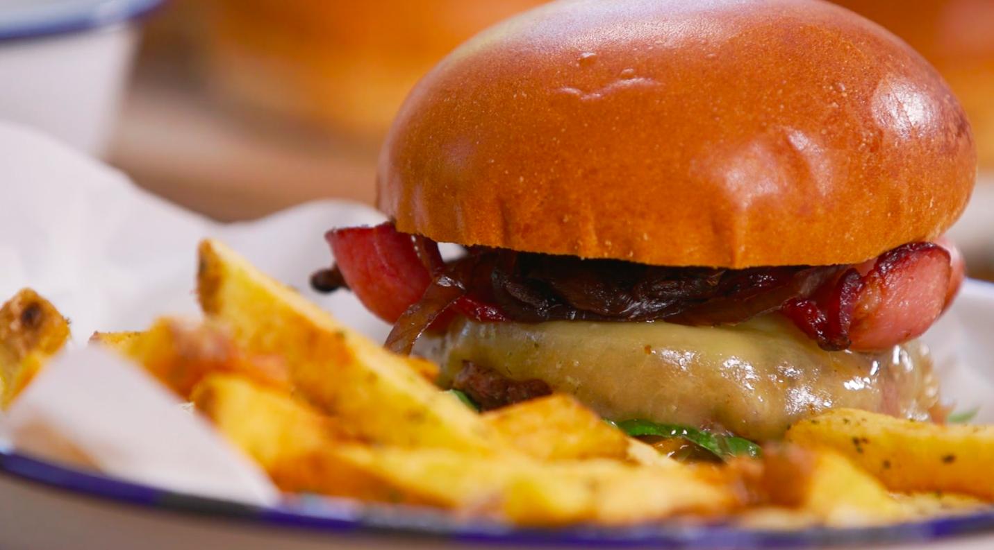 how to make cheeseburgers recipe