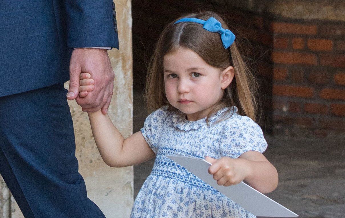 princess charlotte prince louis christening
