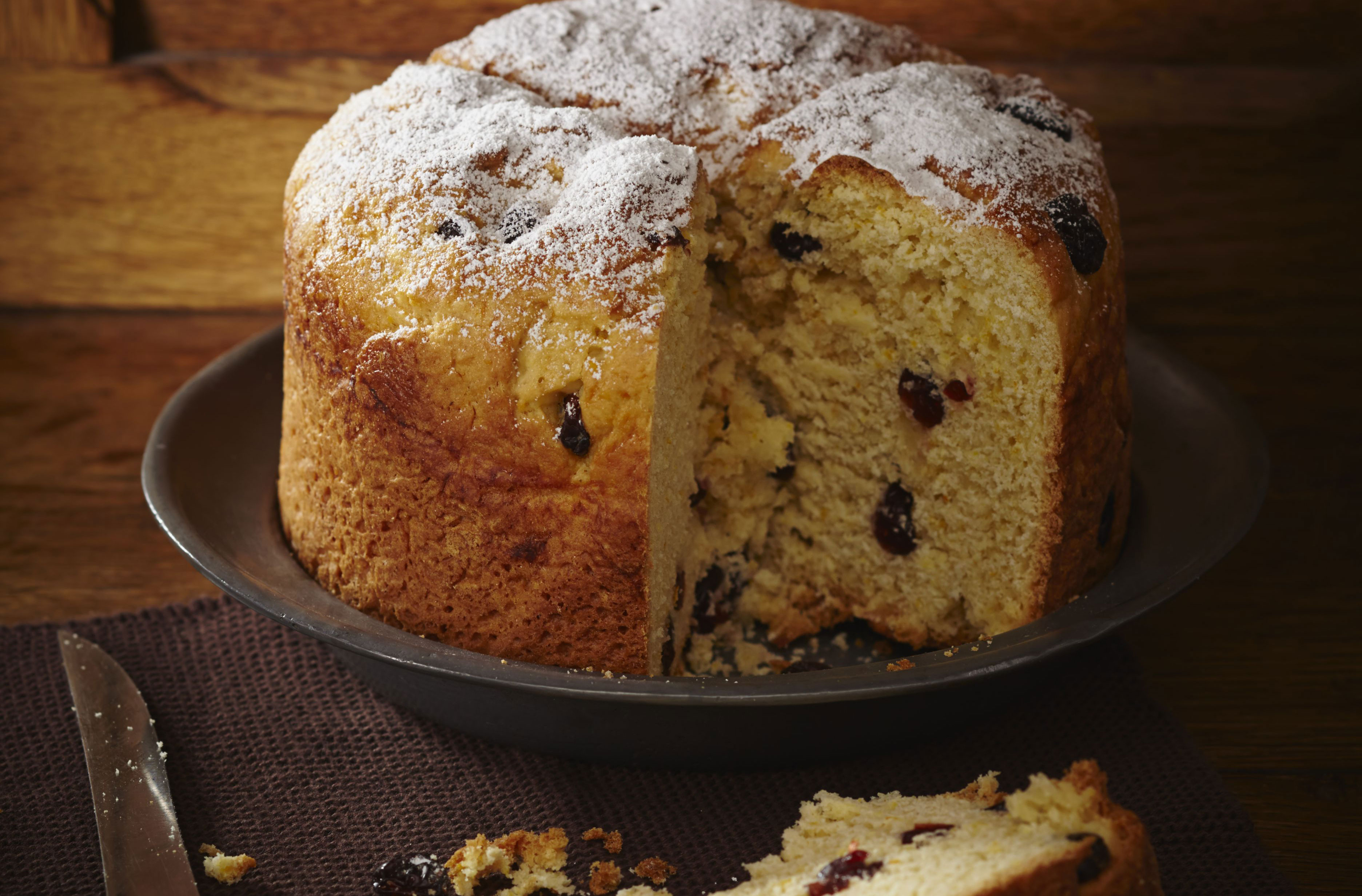 Gino D Acampo S Panettone Classico Dessert Recipes Goodtoknow