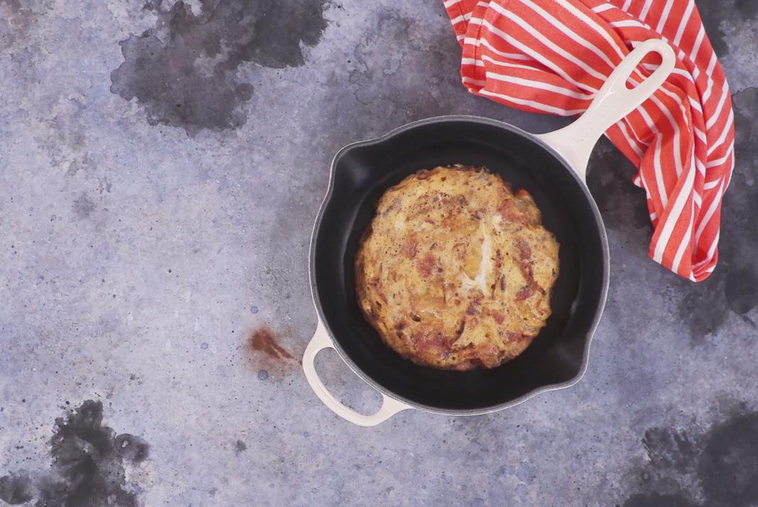 How to make Spanish omelette4