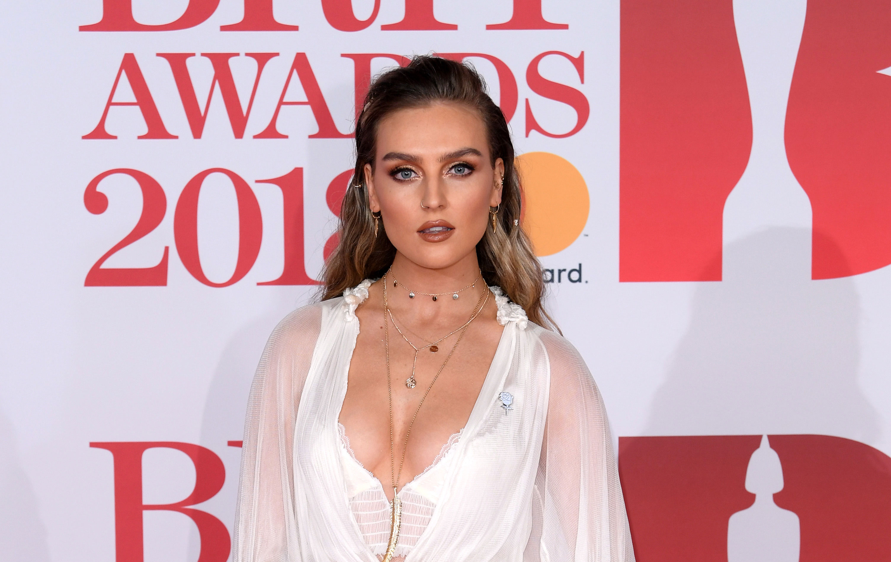 Little Mix Singer Perrie Edwards Shows Off Amazing