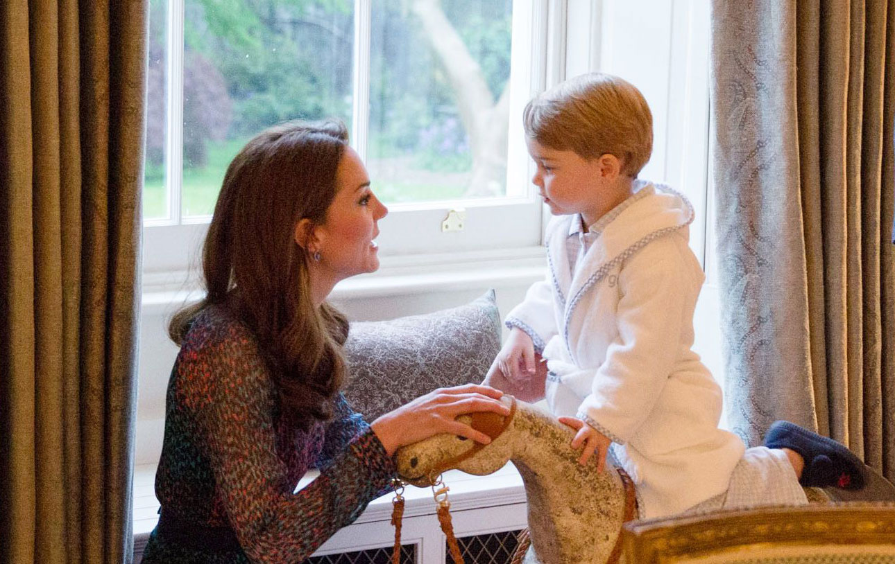 prince george dressing gown