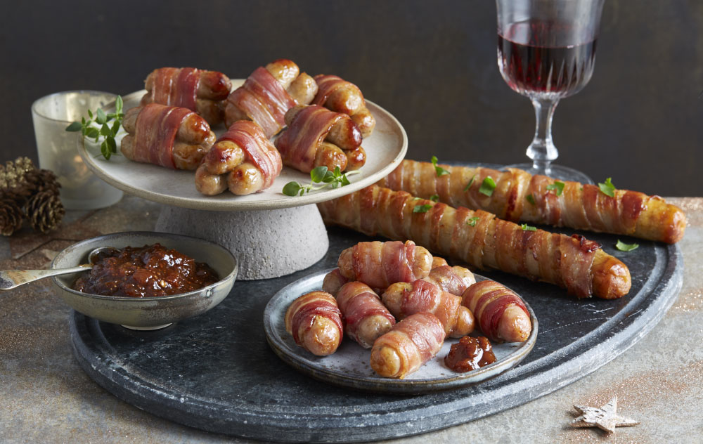Aldi giant foot long pigs in blankets christmas 2018