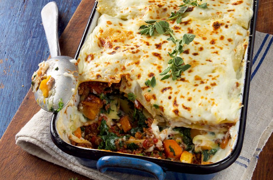 Healthy vegetarian lasagne recipes