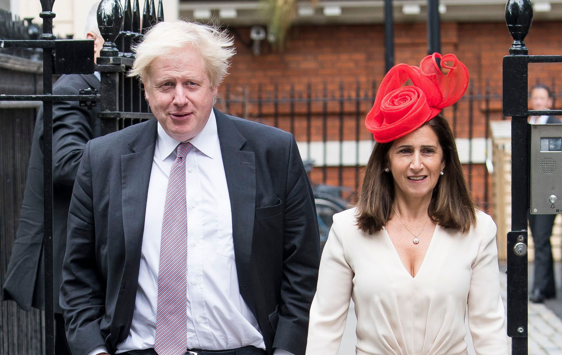 Boris johnson divorce