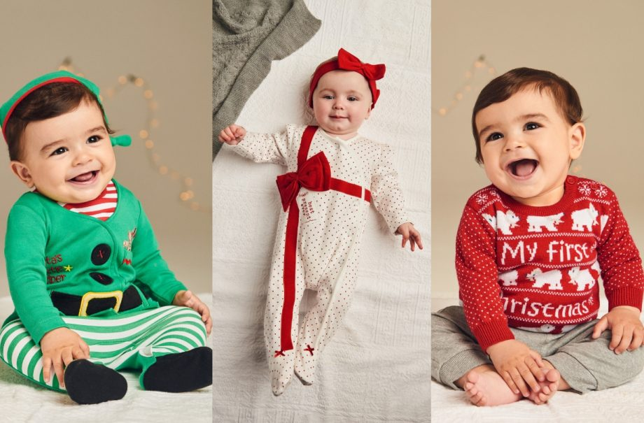 Christmas baby outfits - 13 Adorable Baby Christmas Outfits From £6