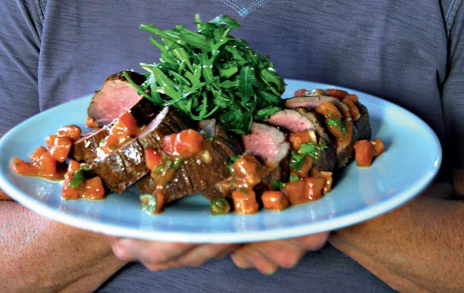 Gordon Ramsay's roasted beef fillet recipe
