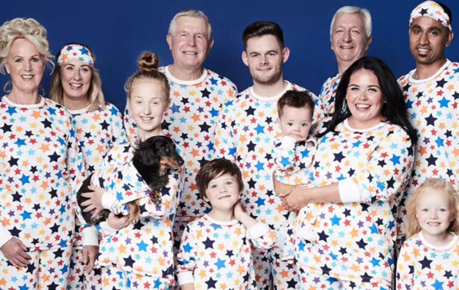 complimentary shipping highly coveted range of strong packing Matalan launches matching pyjamas for the whole family