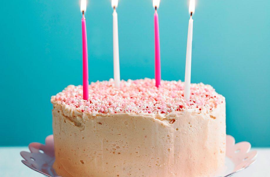 Nadiya Hussains Confetti Birthday Cake