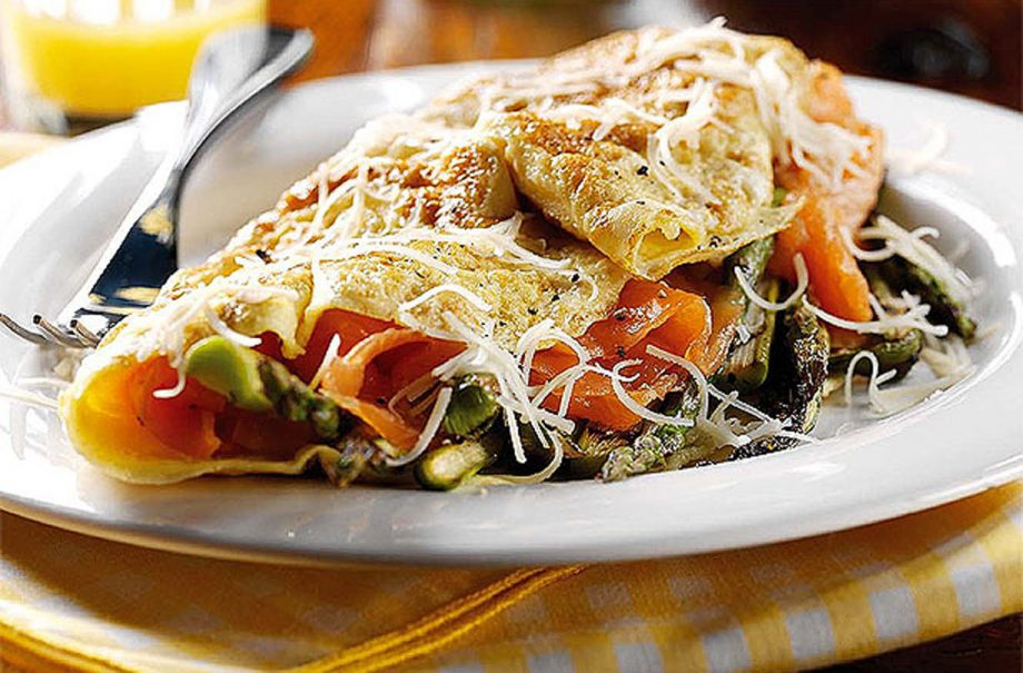 Omelette fillings and recipes
