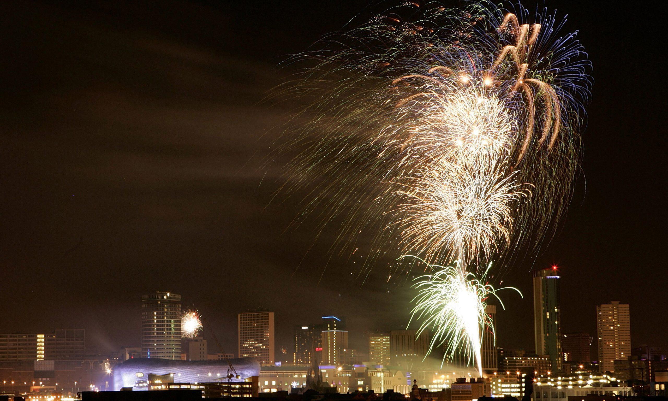 midlands fireworks 2018