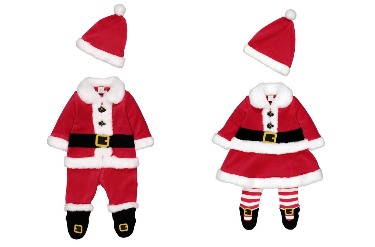 father christmas outfits for babies