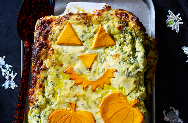Try this fun Halloween lasagne on a chilly October night
