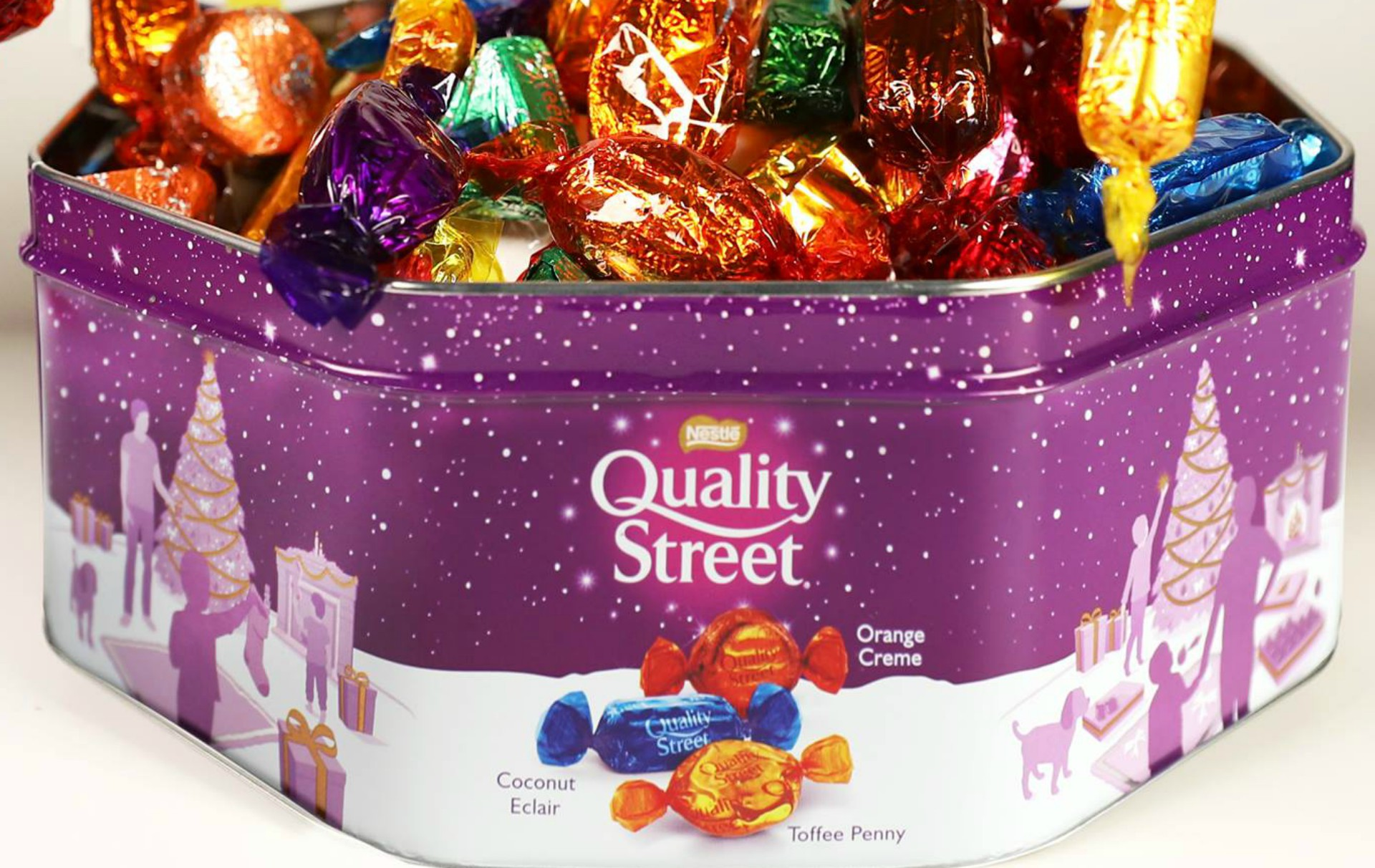 Quality Street fans will not be happy with the missing chocolate in this year's tin