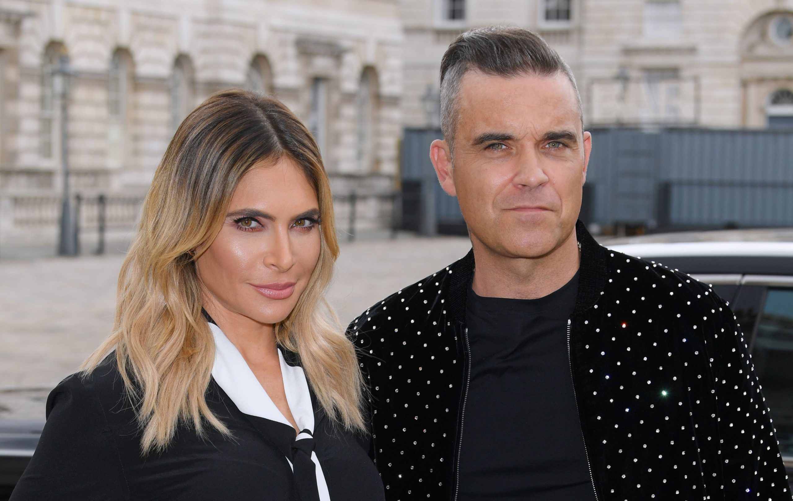 Ayda Williams and Robbie Williams