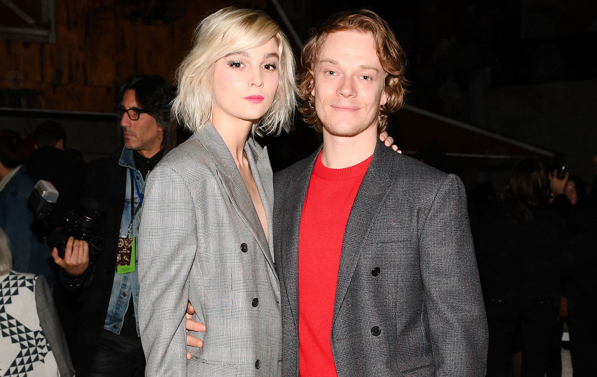 Alfie Allen Reveals He S Welcomed His First Child With