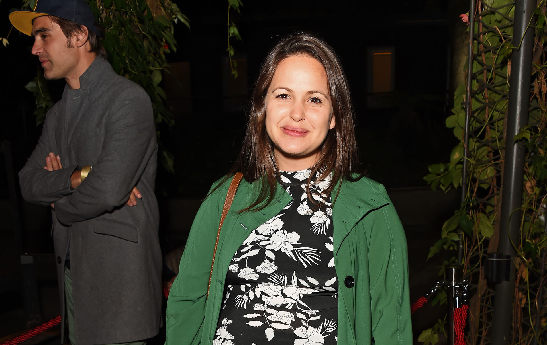 giovanna fletcher drinking and breastfeeding