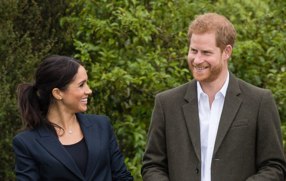 prince harry reveals royal baby name