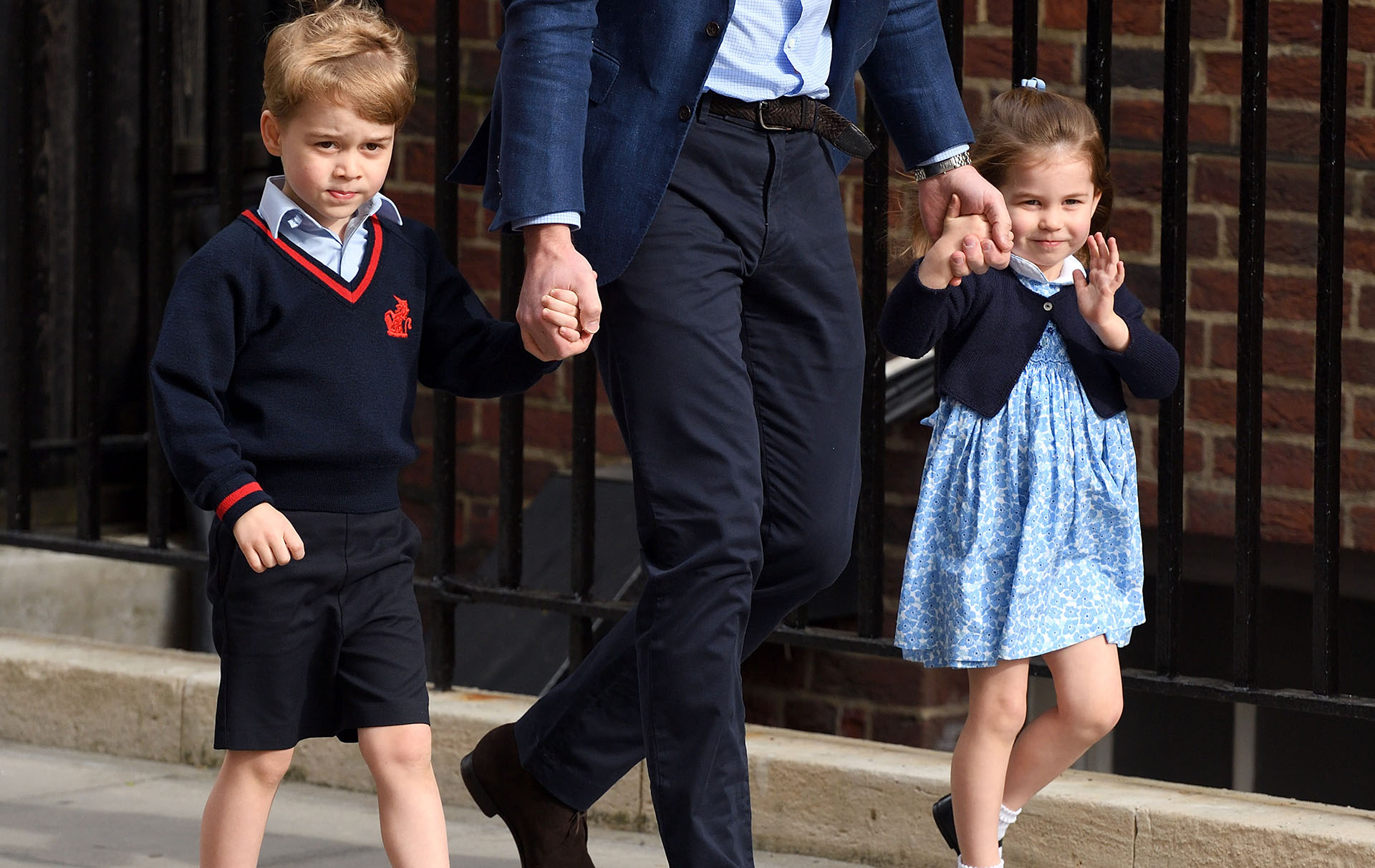 Prince George and Princess Charlotte etiquette lessons