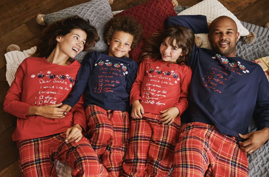 a9c7e37101 Matching family Christmas pyjamas  The best matching pjs