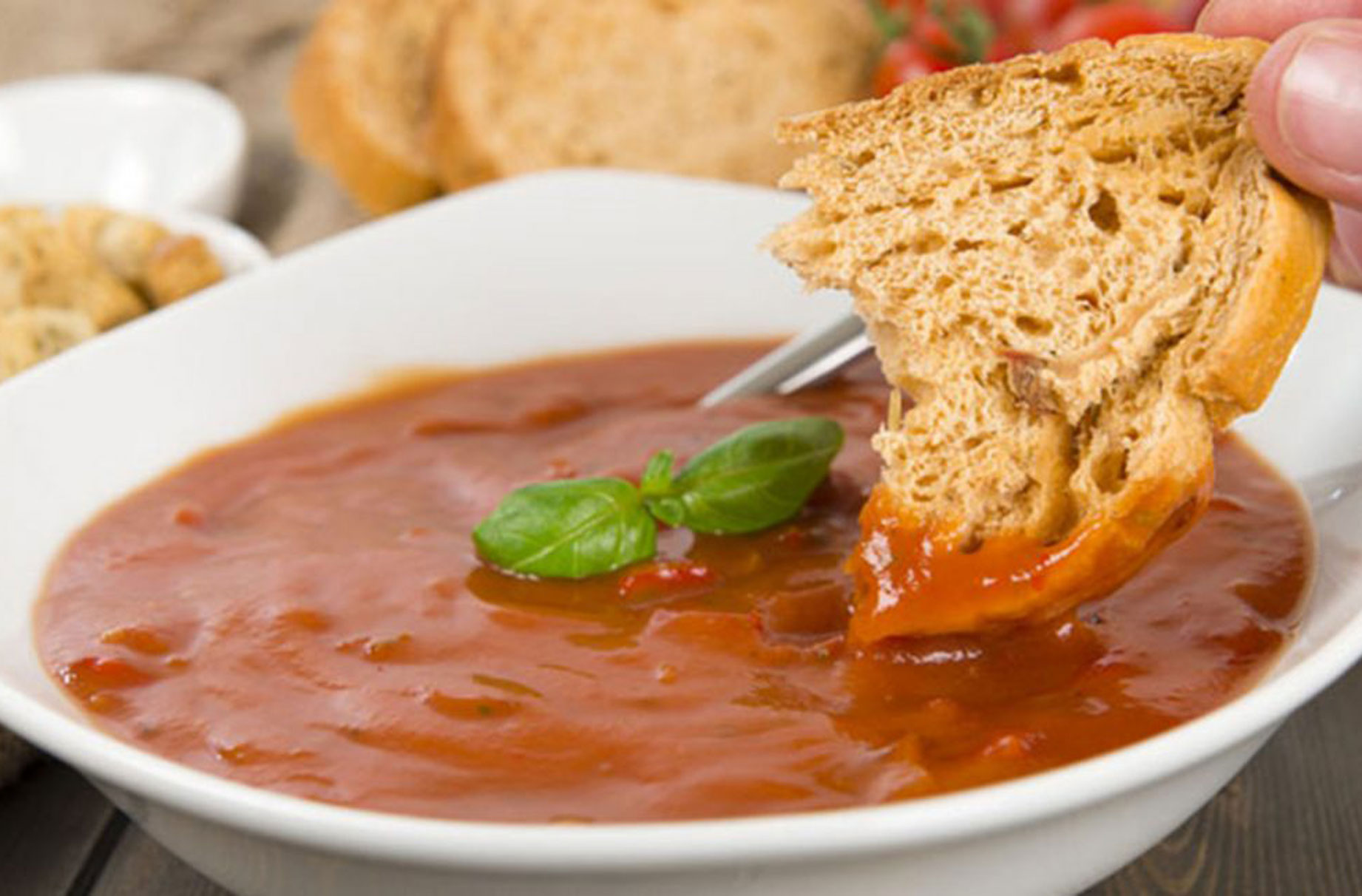 Tomato And Chilli Soup Lunch Recipes Goodtoknow