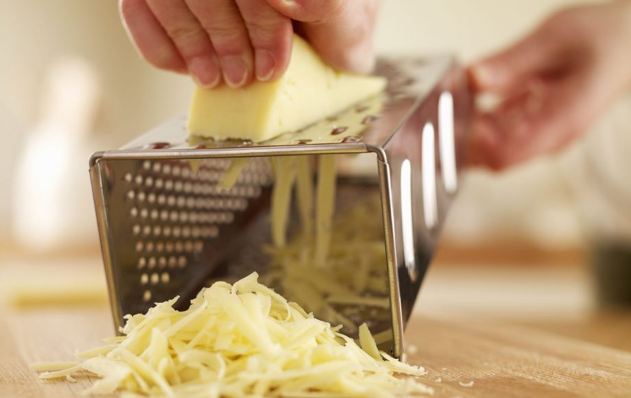 Internet cheese grater hack shows how we've all been grating cheese wrong