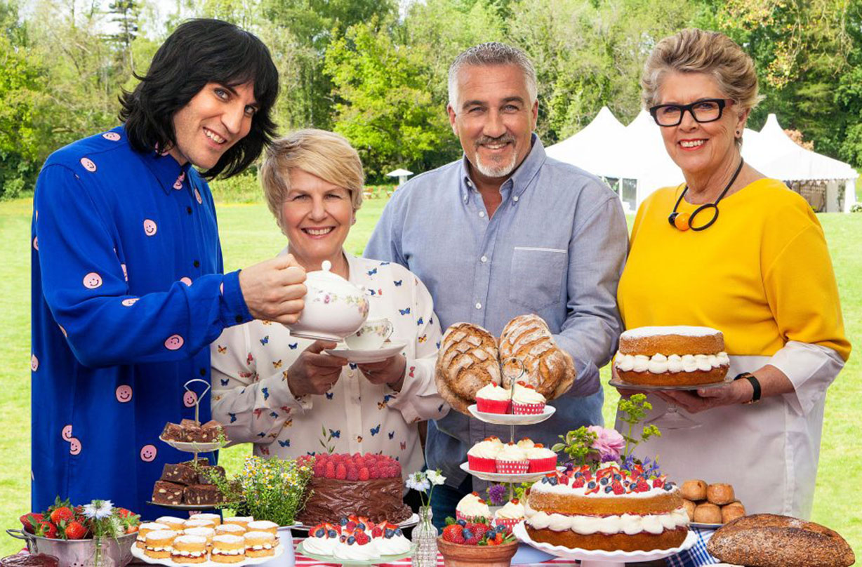 Great British bake off final Terry Hartill letter