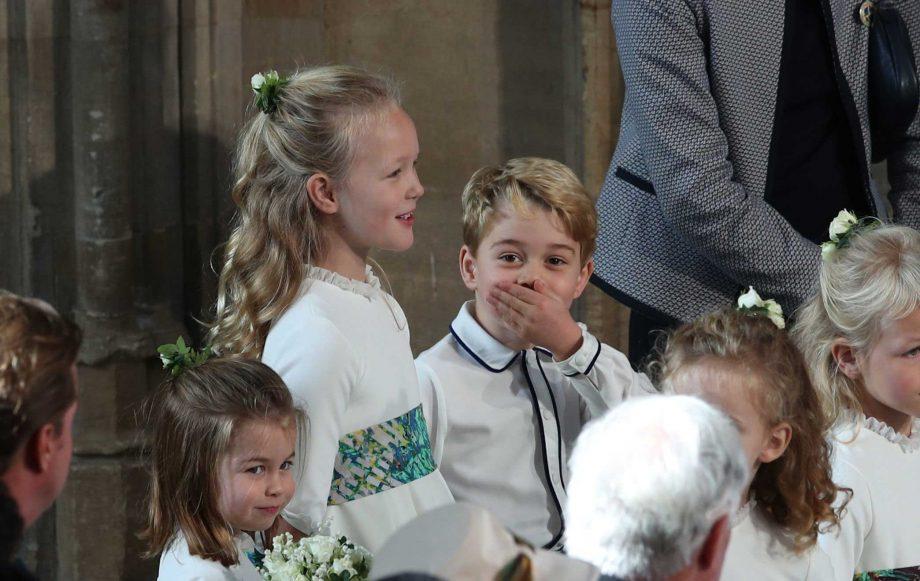 princess charlotte prince george savannah phillips