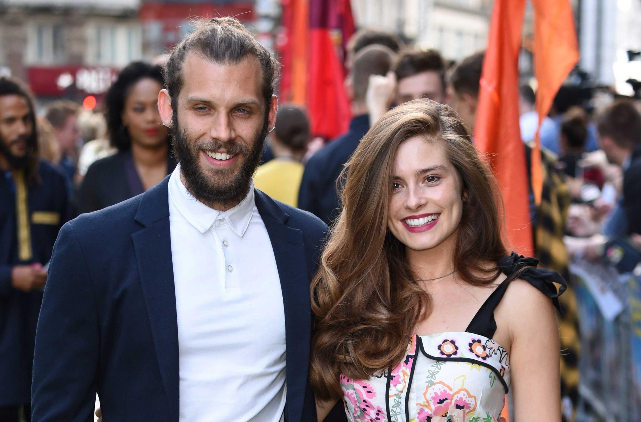 Chris Overton and Rachel Shenton