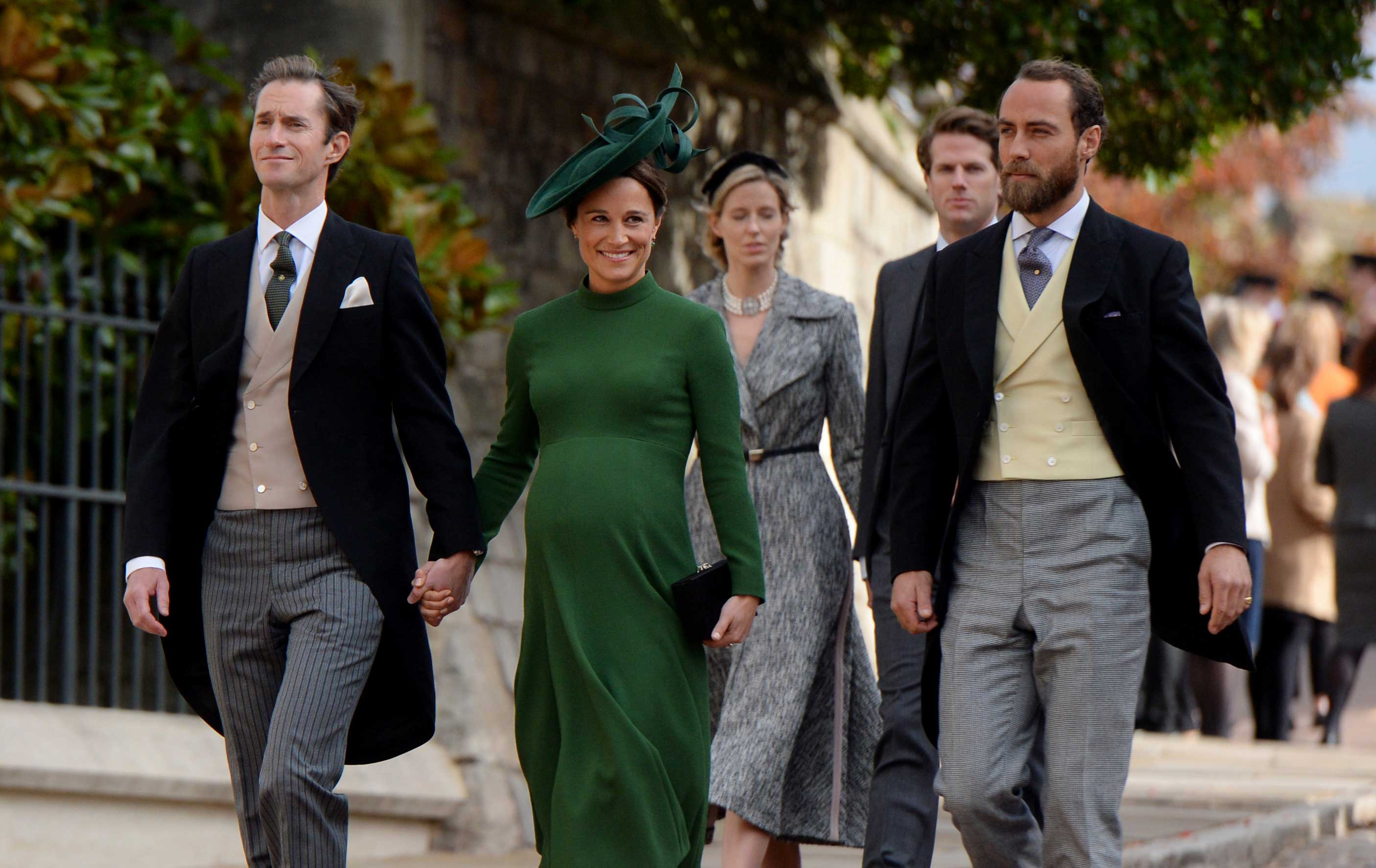 James Matthews, Pippa Middleton and James Middleton