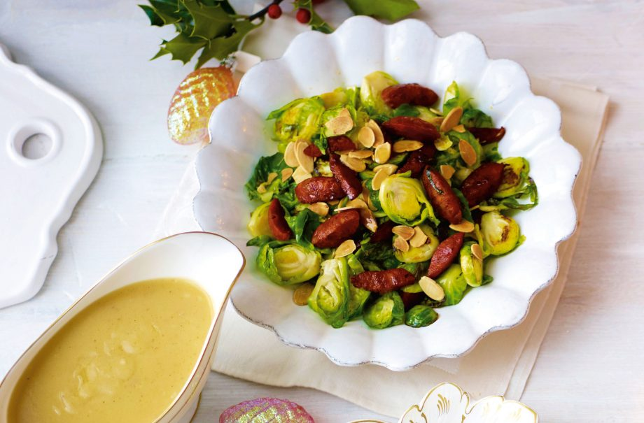 Gordon Ramsay's Brussels sprouts with pancetta