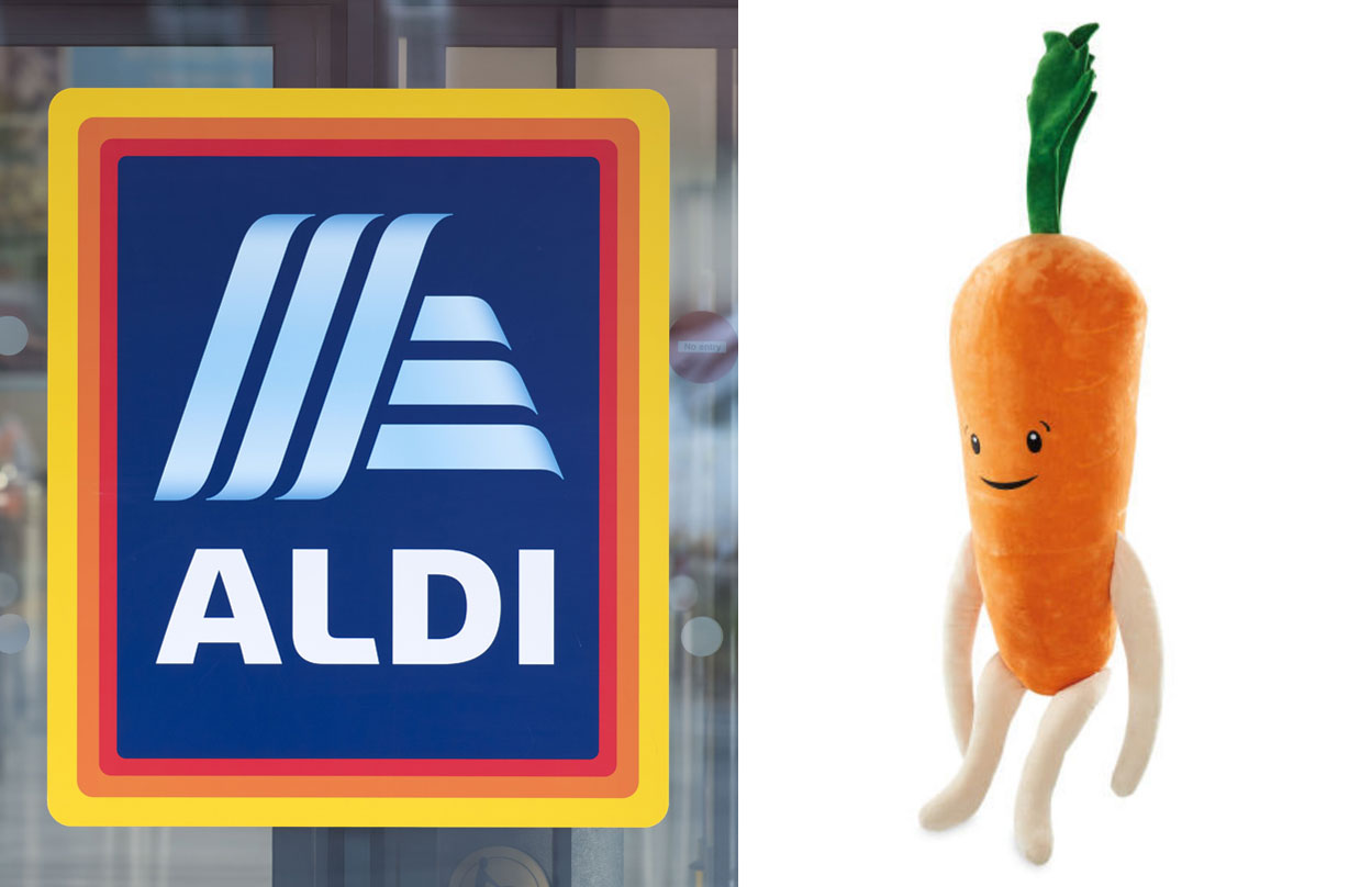 Kevin the carrot aldi