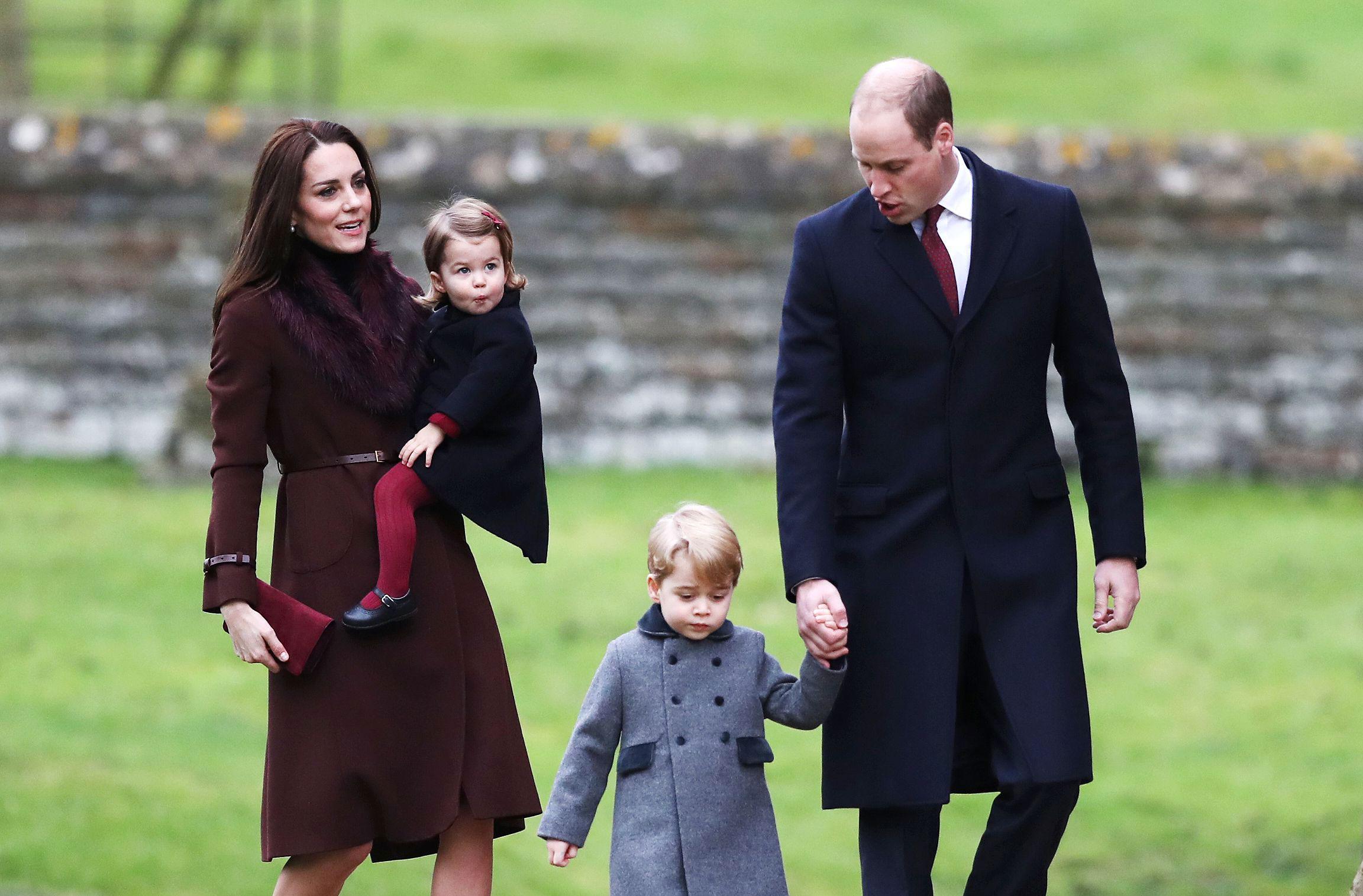 Prince George Princess Charlotte Christmas
