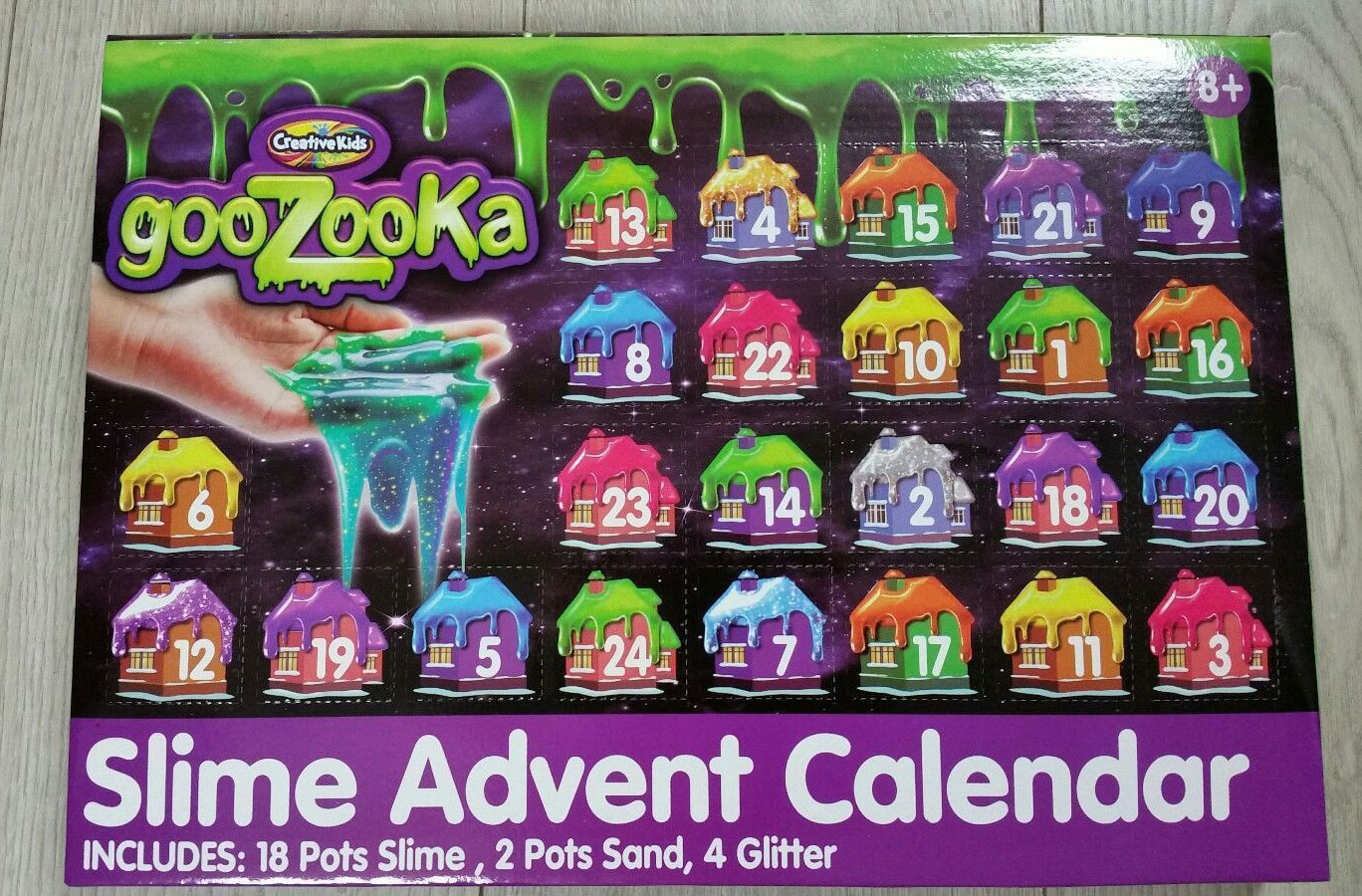 Slime Advent Calendar Selling For Five Times The Original