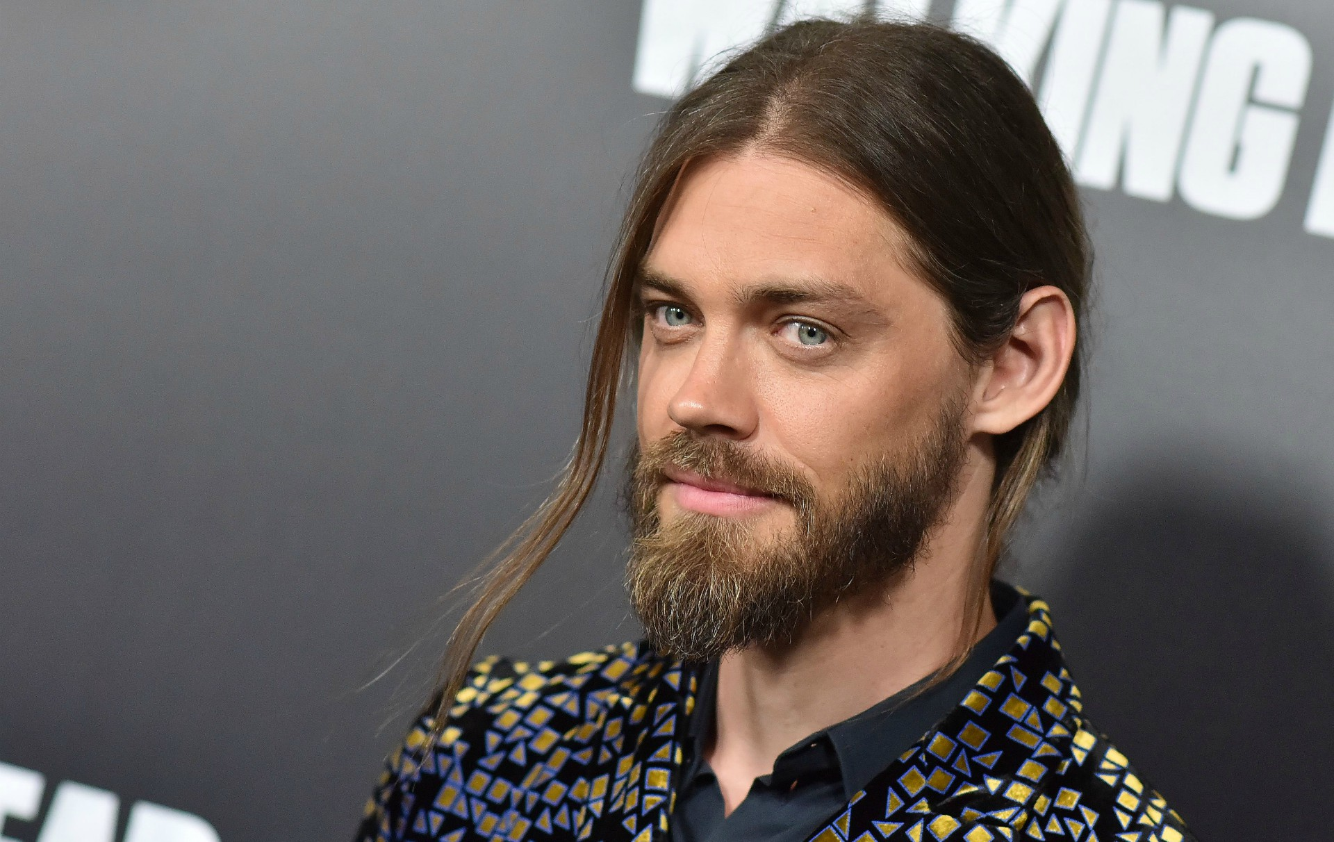 Walking Dead actor Tom Payne is engaged to model Jennifer Akerman
