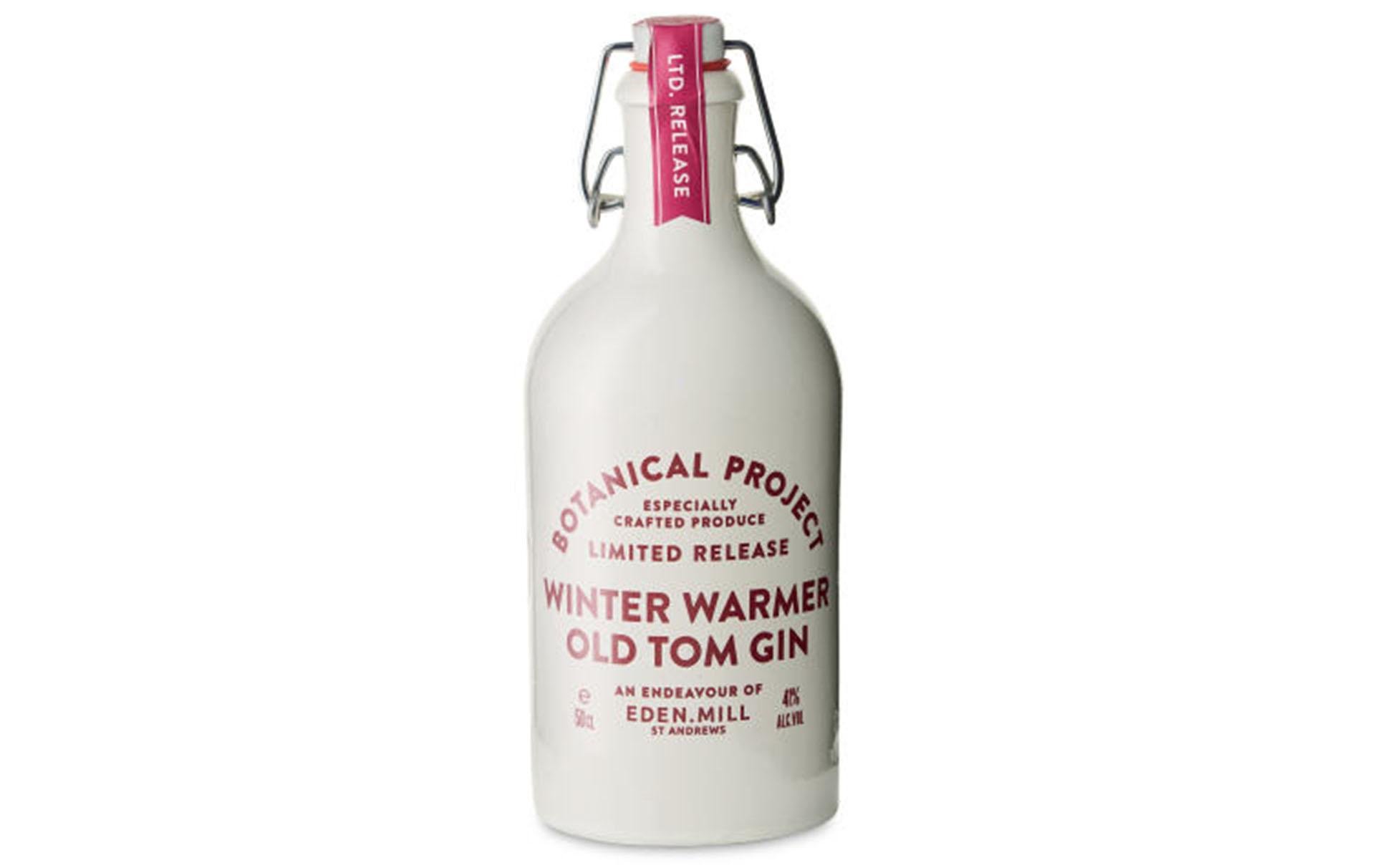 aldi salted caramel and apple gin, aldi winter warmer old tom gin