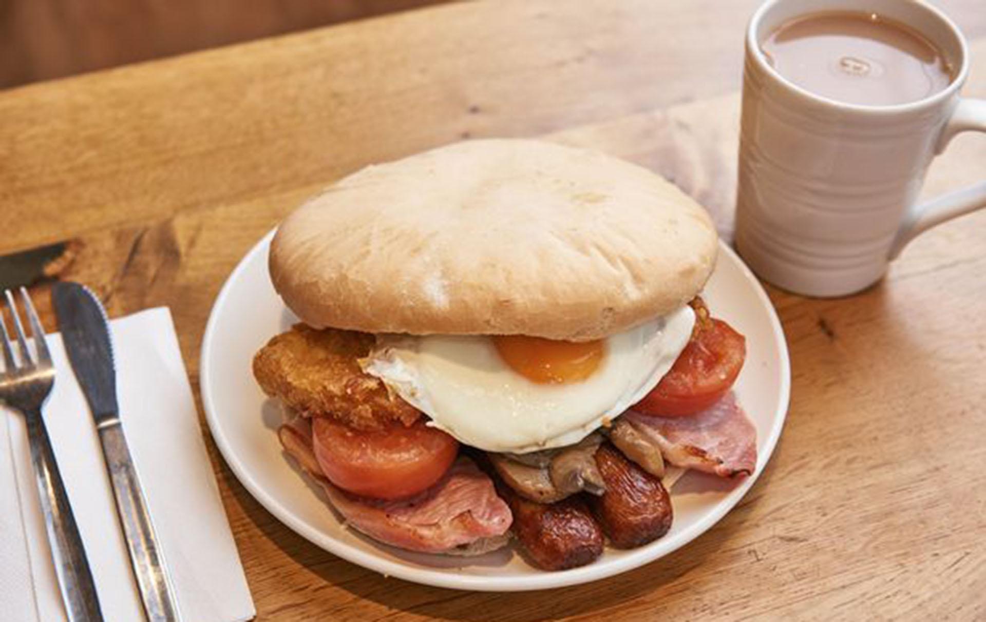 morrisons big breakfast sandwich