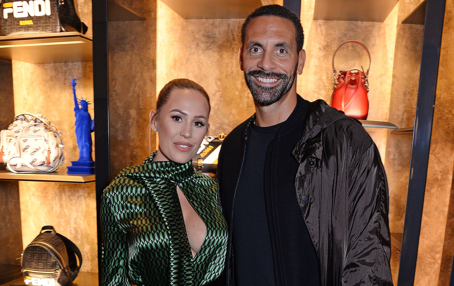 rio ferdinand son sweet message about engagment